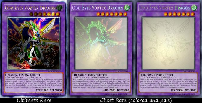 Odd-Eyes Vortex Dragon (2 rarities) by sangmaitre