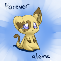 Forever alone by Mimkage