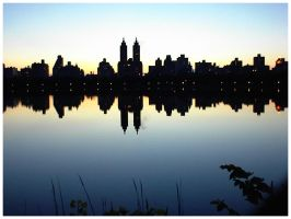 Sunset in the Central Park by Fox82
