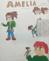 Character Reference Sheet: Amelia by shadowdelta47