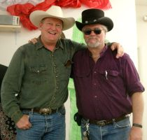 Author Craig Johnson and I by THE-Darcsyde