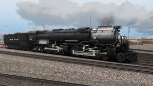 UP 3985 in Los Angeles Yard by SoPac4449