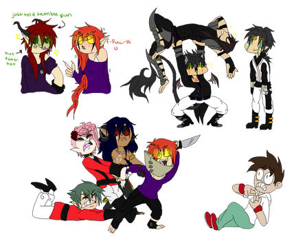 Meme - Draw the Squad Pt2 by TheFallingpiano