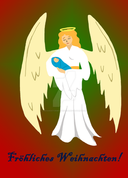 Angel by Diehardstormhawksfan