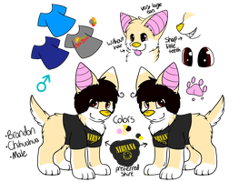 .:AT:. Brandon Reference Sheet by CollectionOfWhiskers
