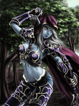 Sylvanas Windrunner by DragTurtle