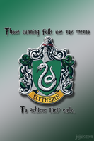 iPhone and iTouch: Slytherin by Neko-Kaolla