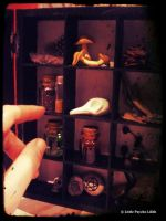 Witchcraft Curio Box FOR SALE by Little-Psycho-Lilith