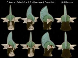 Gallade Hat by LiliNeko