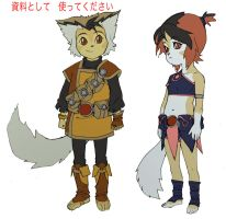 WilyKit and WilyKat concept 1 by DanNortonArt