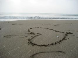 love on the beach by IdaSP