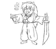 InuYasha Yelling by project3