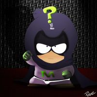 Kenny is Mysterion fan art by Pabzzz