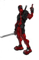 Deadpool Finger by ShadowMaginis