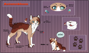 Autumnbloom .:Reference Sheet:. by Silverstream15