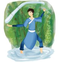 His Son, the Waterbender by scissors89
