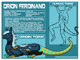 Orion Ferdinand by SuccessfulDropOut