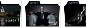 House Of Cards Folder Icons by nellanel