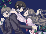 Lelouch,Nunnally,and Rolo by Lelouch-Lamperouge00
