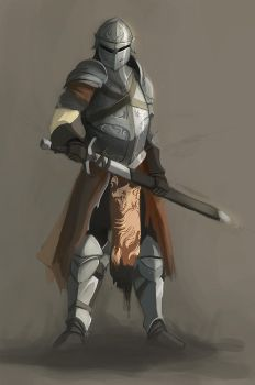 Knight concept by QuintusCassius