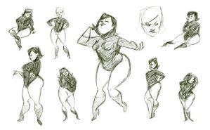 Poses of a chub lady by katie8787