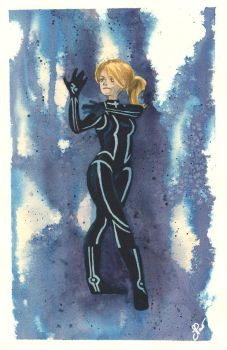 Black Suit Samus by Jackin