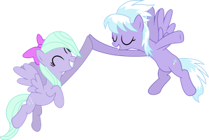 High-hoof, Cloudchaser! by ZanderalS