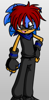 Me as a Sonic character by Sonikku-Otaku