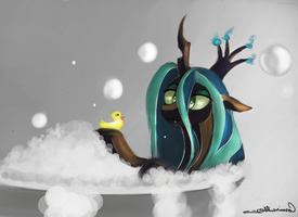 Tell me a duck story by Auroriia