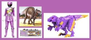 Lavender Dino Charge Ranger by Greencosmos80