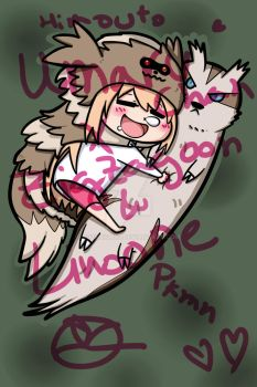 Umaru-chan x Zigzagoon and Linoone by 402ShionS3
