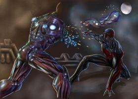 Spidey 2099 Concept WIP by wraith2099