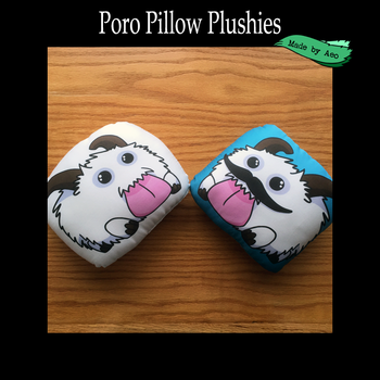 Pudgie Poro Plushies by SPPlushies