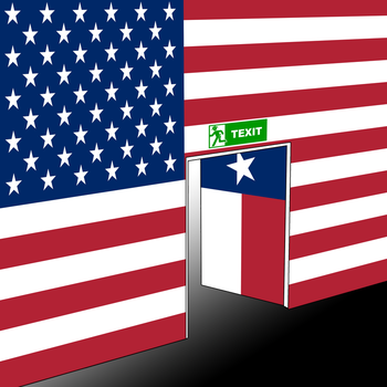 Texit US Flag by topher147