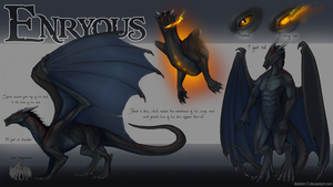 Commission: Enryous refsheet by Serpentwined