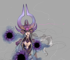 Syndra by KiyaKoda