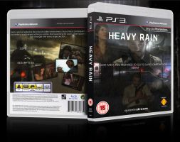 Game Case Artwork - Heavy Rain by Birdie94jb