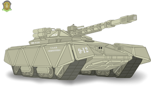 Main Battle Unit N-510 by DolphinFox