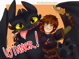 .Golden Globes 2015 - Best Animated Feature. by Kikuri-Tan