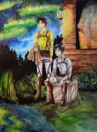 Eren and Levi by galaxychix