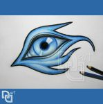 Bluemon-eye by Nu--Art