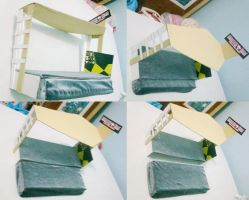 Sliding Bed for MH dolls by seawaterwitch
