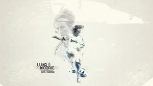 Luka Modric Wallpaper'13 by SemihAydogdu