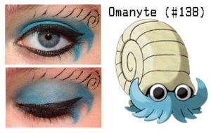 Pokemakeup 138 Omanyte by nazzara