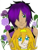 Akio and Toshiko by drasticslostsoul