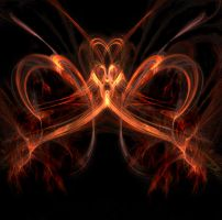 flames of love by imaginum