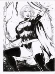 power girl dark by amorimcomicart