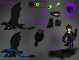 HTTYD-Wolf Paw reference sheet by BlackDragon-Studios