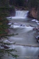 Johnston Canyon Waterfall 3 by KSPhotographic