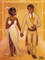 Tiana and Naveen (Almost There Version) by daisyein